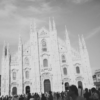 our arrival in milan, italy!