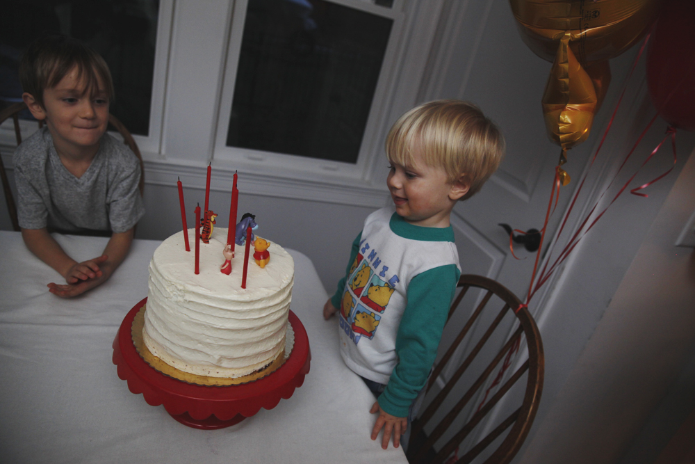 a birthday party for anders.
