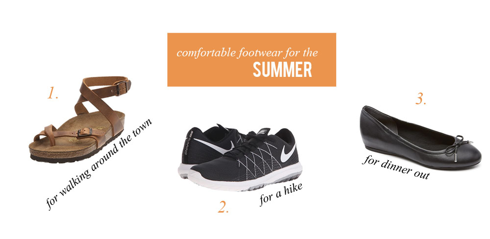 1b2e21ce60b9be comfortable footwear for summer travel. - Tales of Me and the Husband