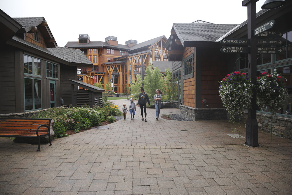 a (magical) stay at Stowe Mountain Lodge.