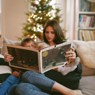 Our favorite Christmas books.